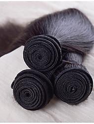 3pcs peruanos del pelo humano 8-30inch peruana recta pelo virginal remy recta paquetes armadura virginal del pelo