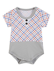 Girl's Clothing Set,Cotton Summer / Spring Blue / Gray