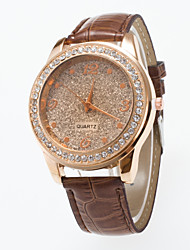 2016 Special Design Ladies Wristwatch Fashionable  Wristwatch With Rhinestone And Frosting  Dial Women's Watch Cool Watches Unique Watches Strap Watch