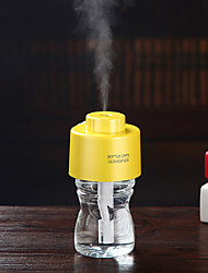 USB Water Bottle Cap Humidifier Air humidificador Office Aroma Diffuser Mist Maker Bottle 2pcs Filter Sticks