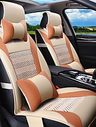 circondato da estate cuscino del sedile auto, cuscini in pelle generale a quattro pad cuscino del sedile 5