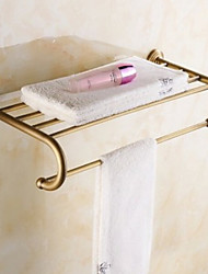 Contemporary Brass Brushed Wall Mounted Towel Warmer
