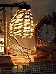 madeira criativo relógio de luz presente lâmpada quarto lâmpada de vela decoração de mesa para o miúdo