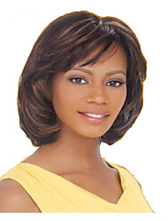 Top Quality Fashion  Brown  Long Straight Woman's Synthetic Wigs Hair