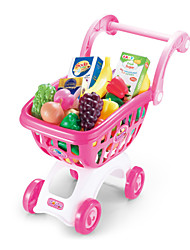 Educational Toy For Children Walker Supermarket Shopping Cart Simulation Trolley Kids Funny Toy