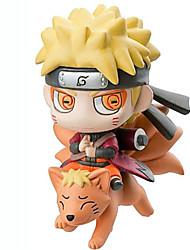 Naruto Outros 8CM Figuras de Ação Anime modelo Brinquedos boneca Toy