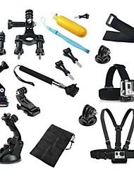 Аксессуары для GoPro Монопод / всасывания / На бретельках / Аксессуары Кит / Монтаж Многофункциональный, Для-Экшн камера,Xiaomi Camera /