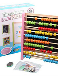 A Small Drawing Board Ten Calculating Frame Learning Frame Magnetic Beads Count Music Spell