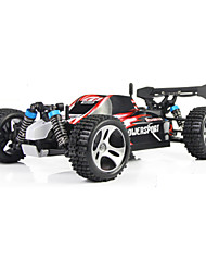 Buggy WLToys A959 1:18 Brush Electric RC Car 45KM/H 2.4G Blue Red Ready-To-GoRemote Control Car Remote Controller/Transmitter Battery