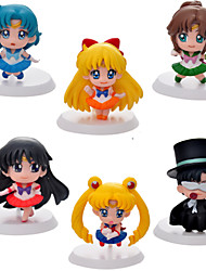 Sailor Moon Sailor Moon PVC Anime Action Figures model Toys Doll Toy