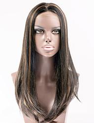 cheveux synthétiques perruques avant de dentelle de cheveux raides perruques perruques de cheveux célébrité de style pour les femmes de la