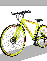 700C 18 Speeds  Racing Aluminium Alloy Frame Double Disc Brake Bend Handlebar Road Bike