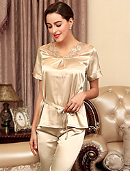 New pajamas women wear short sleeved Home Furnishing