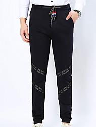 2016 new cotton trousers men's trousers leisure feet and slim men long pants British hip hop