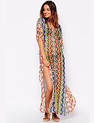 Femme Sans Armature Soutien-gorge Sans Rembourrage Bandeau Vêtement couvrant Couleur Pleine,Polyester Mousseline de soie