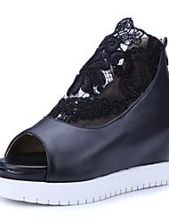 Women's Shoes Wedge Heel Wedges / Peep Toe / Platform / Open Toe Sandals Office & Career / Dress / Casual