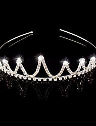 Wedding Bridal Flower Girls Kids Crystal Hair Band Headband Tiara