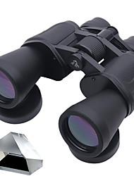 10-70x 70 mm Binoculares BAK4 Impermeable / Resistente a la intemperie / Visión nocturna 119m/1000m Enfoque CentralRevestimiento Múltiple