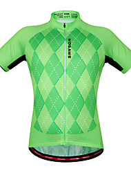 Wosawe® Cycling Jersey Women's / Unisex Short Sleeve Bike Breathable / Quick Dry / Anatomic Design / Moisture PermeabilitySweatshirt /