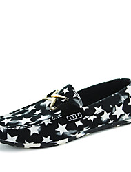 Men's Shoes Casual Loafers / Slip-on Black / Blue / Red