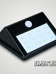 1pc LED Solar Sensor garden Light IP65 10LED Save Energy