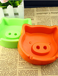 Smoking Accessories Simple Lovely Ashtray Pig Shaped Ashtray Valentine's Day Present(Random Color)