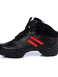 Customizable Women's/Men's Modern Dance Shoes/ Sneakers in Black
