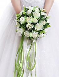 Шелк Розы Искусственные Цветы