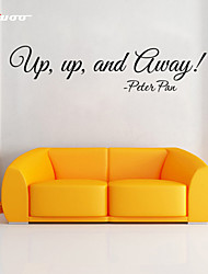 Words & Quotes Wall Stickers Plane Wall Stickers,Vinyl 58*14