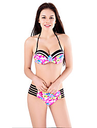 Women's Bandeau Side Tie Tankini Bikini