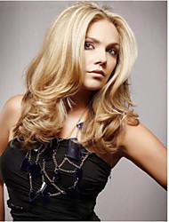 de alta qualidade exporta o cabelo da moda peruca mistura de cores peruca sintética europeu e americano.