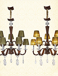 European Style Restaurant Living Room Lighting High-end El Luxor Hotel Leather Lighting