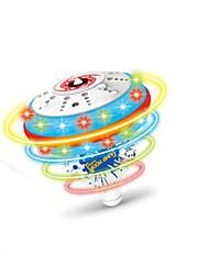 jouets haut de musique pour les enfants en plastique bleu / orange / rose