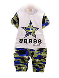 Boy's Cotton Clothing Set,Summer