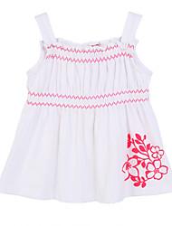 Girl's White Clothing Set,Ruffle Cotton Summer