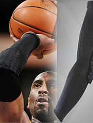 Elastic Sport Basketball Arms Sleeve Shooting Crashproof Honeycomb Elbow Support Pads Elbow Protector Guard