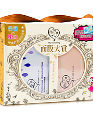 Máscara Molhado Liquido Humidade / Branqueamento / Anti-Acne Rosto Preta Taiwan