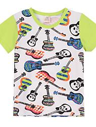 T-shirt Maschile Estate Cotone