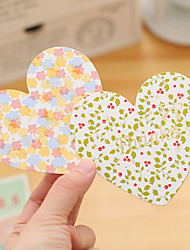 1PC Homemade Hand-Painted Romantic Love Postcard A Small Card Paper Gift Birthday Greeting Card(Style random)