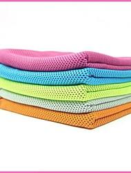 Yoga Полотенца Полиэстер Оранжевый Тёмно-синий Светло-голубой Зеленый