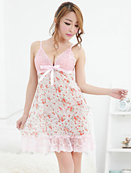 Women Lace Lingerie / Ultra Sexy / Suits Nightwear , Cotton / Lace