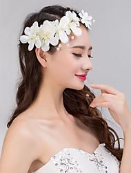 cristal perle dentelle fleur strass bandeau front bijoux de cheveux de femmes pour la fête de mariage