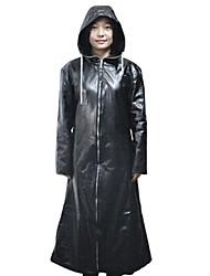 Kingdom Hearts Black Leather Cosplay Cloak