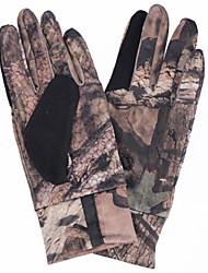 анти-скольжения перчатки для охоты / рыбалки / на открытом воздухе случайных цветов