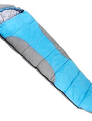 200g Hollow Cotton Polyester Lining Single Mummy Bag for Camping and Hiking