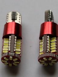 t10 3014-56smd multicolor lado marcador de luz