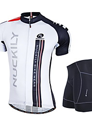 NUCKILY mountain bike riding short sleeve summer sunscreen breathable clothing