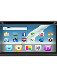 Android 4.2 6.2 Inch In-Dash Car DVD Player Multi-Touch Capacitive with WIFI,GPS,RDS,IPOD ,BT,Touch,Screen