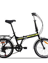 "twitter ® fietsen 7 versnellingen dubbele v brake 20 ""vouwfiets aluminiumlegering"
