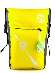 Mala para Bagageiro de Bicicleta/Alforje para Bicicleta(Amarelo,Nailom / Nylon 400D)Á Prova-de-Água / Seca Rapidamente / Á Prova-de-Chuva